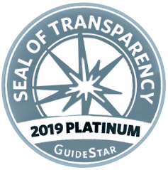 2019 Platinum Seal of Transparency from Guidestar