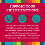 pandemic parenting advice - support emotions