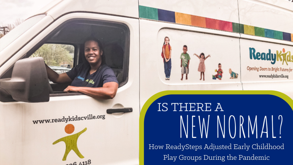 ReadySteps Van, empty during the pandemic